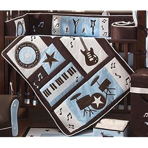 Rock 'N Roll 4-Piece Bedding Set