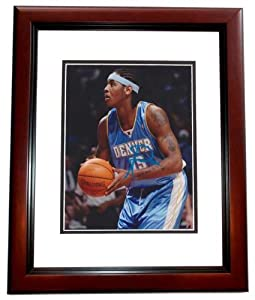 Carmelo Anthony Autographed Hand Signed Denver Nuggets 8x10 Photo MAHOGANY CUSTOM... by Real Deal Memorabilia