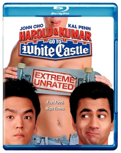 Cover art for  Harold & Kumar Go to White Castle (Extreme Unrated) [Blu-ray]