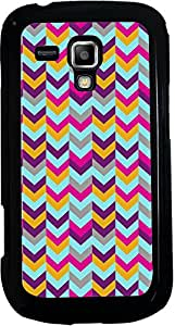 Printvisa 2D-SGS7562-D7913 Pattern Chevron Case Cover for Samsung Galaxy S Duos S7562