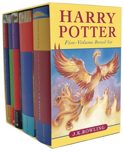 Harry Potter Box Set (Books 1-5)