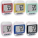 LCD Digital Pedometer Step Run Distance Calorie Walking Counter Pocket Clip
