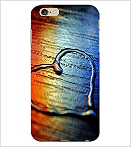 PrintDhaba Heart D-2069 Back Case Cover for APPLE IPHONE 6S (Multi-Coloured)