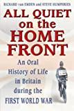All Quiet on the Home Front: Life in Britain During the First World War