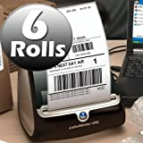 "Dymo 1744907 Compatible 4""x6"" Shipping Labels for 4xl ( 6 Rolls )"