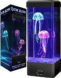 New! Fasciantions Electric Jellyfish Mood Lamp JELLYE