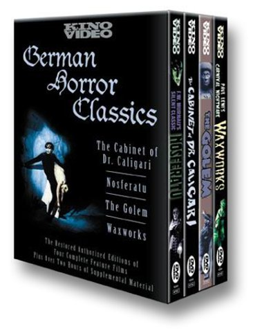 German Horror Classics (Nosferatu (1922) / The Cabinet of Dr. Caligari / Waxworks / The Golem)