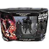 Star Wars Commemorative Figure Pack of 3 Revenge of the Sith Darth Vader Count Dooku Palpatine