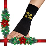 CopperJoint Copper Wrist Support, #1 Compression Sleeve - GUARANTEED Recovery from Pain, Sprains, Carpal Tunnel, Bursitis, Tendonitis, Arthritis - Single Brace (Left - Medium)