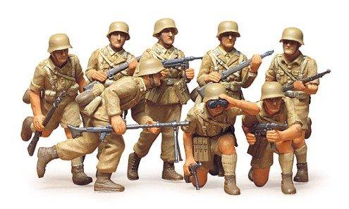 German DAK Africa Corps (8) 1/35 Tamiya