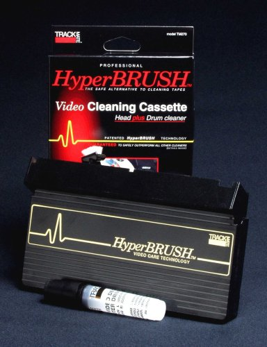 TRACKMATE TM270B Hyperbrush Vhs Vcr Drum and Head Cleaner (Vhs Vcr Cleaner compare prices)