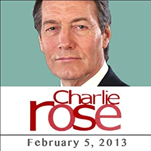 Charlie Rose: Alan Blinder and John Donahoe, February 5, 2013 Radio/TV Program