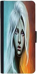 Snoogg Sad Blonde Girl 2692 Designer Protective Flip Case Cover For Samsung G...