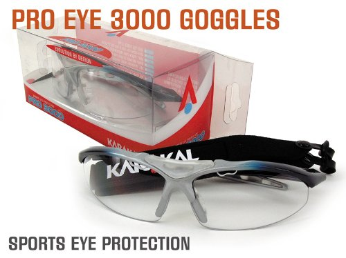 Karakal Pro 3000 Adult Eye Protection Goggles