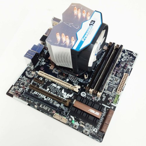 Intel Haswell i7 4770k CPU 4.4GHz, Asus Gryphon Z87 Motherboard, 16GB Corsair Vengeance LP DDR3 1600MHz RAM, Overclocked Gaming Pre-Assembled Component Bundle