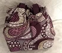 Thirty One Cinch It up Thermal Tote 3785 Patchwork Paisley