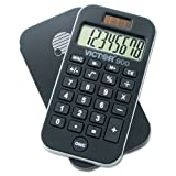 Victor Technology 900 Compact Handheld Calculator (Black)
