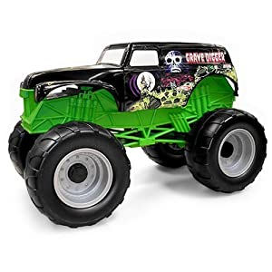 .com: Grave Digger Colossal Crusher Toy Monster Truck: Toys & Games