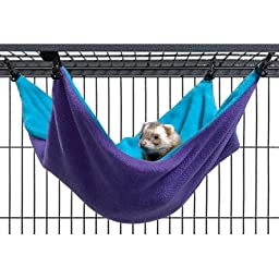 Midwest Homes for Pets Nation Accessories Hammock, Purple/Teal, Large