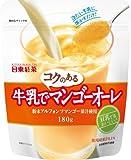 日東紅茶 牛乳でコクのあるマンゴーオーレ 180g×3個