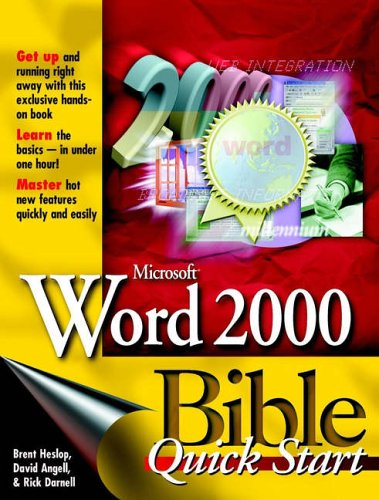 MicrosoftWord 2000 Bible: Quick Start