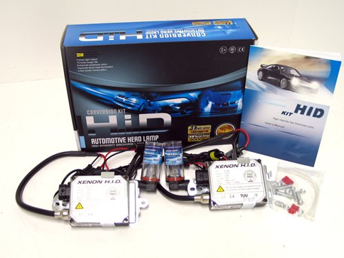 Xenon Hid Headlight Light Bulbs Conversion Kit H1 Diamond White 6000K