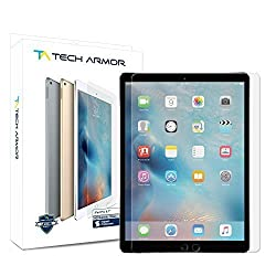iPad Pro Screen Protector, Tech Armor Premium Ballistic Glass for 9.7-inch Apple iPad Pro - Protect Your Screen from Scratches and Drops