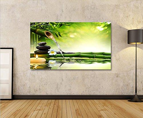 impression sur toile wasser zen v3 1p image sur toile. Black Bedroom Furniture Sets. Home Design Ideas