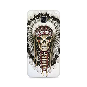 Mobicture Skull Abstract Premium Printed Case For Samsung A710 2016 Version