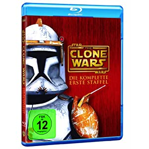 BD * Star Wars: The Clone Wars - Die komplette 1. Staffel (Box Set / 3 Discs) [Blu-ray] [Import alle