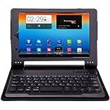 VSTN Lenovo YOGA TABLET 8 専用 脱着式Bluetooth キーボード PUレザーケース付き(ブラック)