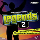 Zoom Karaoke CD+G - Legends Volume 2 - 20 Jazz/Swing Tracks [Card Wallet] Zoom Karaoke