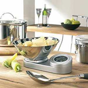 Salter Rotating Display Electronic Kitchen Scale Amazon