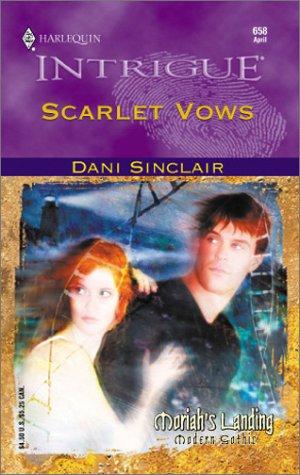 Image for Scarlet Vows (Moriah's Landing) (Harlequin Intrigue Series, No. 658)