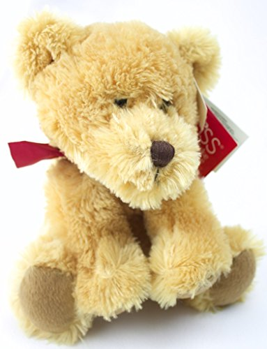 Russ Plush Giles Sitting Bear Tan - 1