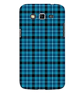 Classic Blue Pattern 3D Hard Polycarbonate Designer Back Case Cover for Samsung Galaxy Grand i9080 :: Samsung Galaxy Grand i9082