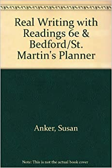 bedford st martins real essays with readings With a bedford / st martin's handbook the bedford introduction to literature is a best-seller readings, and real student writing.