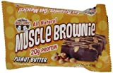 LENNY & LARRY'S Peanut Butter Muscle Brownie, 2.82-Ounce Packages (Pack of 12) by Lenny & Larry's [Foods]