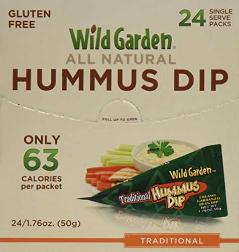 Wild Garden Hummus Dip. Traditonal Hummus, 1.76 Ounces (Pack of 24) (Single Serve Hummus compare prices)