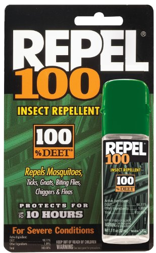 Repel 100 1 oz Insect Repellent Pump Spray 100% DEET 402000