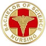 Bachelor of Science Nursing BSN Lapel Pin
