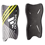 adidas(アディダス) サッカー用 ストロングシンガード 'ACE' ブラック×シルバーメット×ホワイト×セミソーラーイエロー BBU83