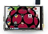 cocopar™ 3.5インチタッチパネル ディスプレイ  raspberry pi,raspberry pi B+,raspberry pi 2,raspberry pi 2 model b,raspberry pi model,ラズベリーpi,raspberry pi2,ラズベリーパイ2,raspberry pi model b用3.5インチ TFT LCD 480x320  タッチパネル スクリーン3.5