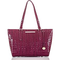 Medium Arno Tote<br>Boysenberry La Scala