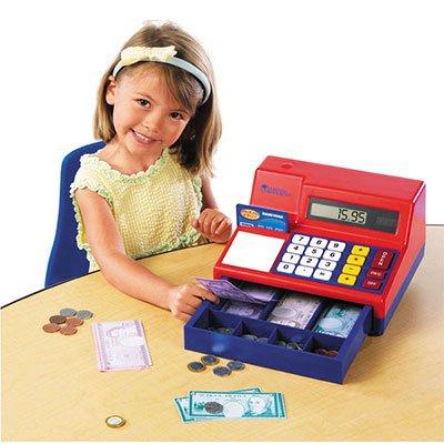 learning resources calculator cash register and money - Learning Resources Cash Register