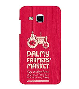 EPICCASE the farmer Mobile Back Case Cover For Samsung Galaxy J3 (Designer Case)