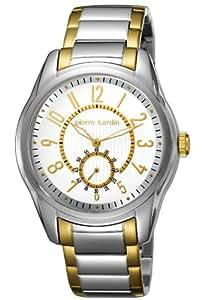 Pierre Cardin Herren-Armbanduhr XL Comte Analog Quarz Edelstahl beschichtet PC104241F08