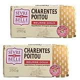 グラスフェッドバター セーブルAOC(Sevre)無塩 250g×2個セットフランス ポワトゥーシャラン産
