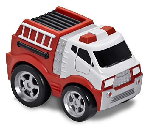 Kid Galaxy Soft and Squeezable Pull Back Fire Truck