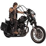 Figura The Walking Dead Deluxe Daryl Dixon con Motocicleta